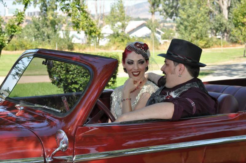 Emily & Jesse's Vintage 20's Circus Theme Wedding ~ Jacksonville, OR