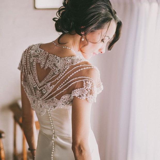 Unique Wedding Dresses: Beaded Beauties