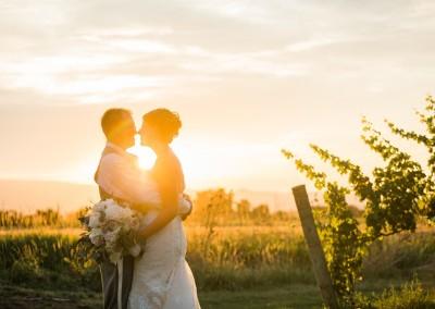 Carrie & Jeff's Elegant Vineyard Wedding ~ Medford, OR