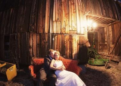 Erica & Greg's Colorful Rustic Wedding ~ Ashland, OR