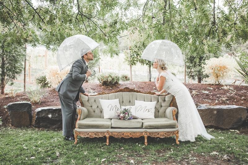 Barrie & Brandon's Rustic Vineyard Wedding ~ Jacksonville, OR