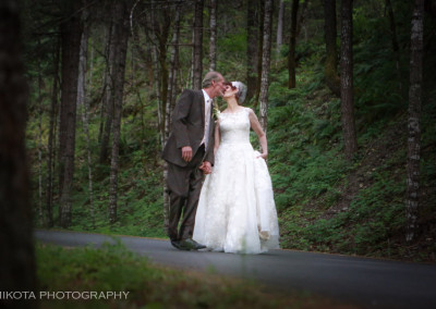 Stephanie & Chris's Whimsical Riverside Wedding ~ Galice, OR