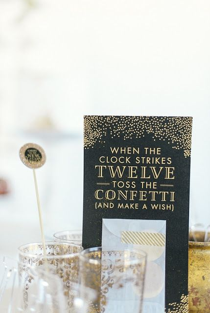 How to Throw a Truly Magical New Year's Eve Reception!!!