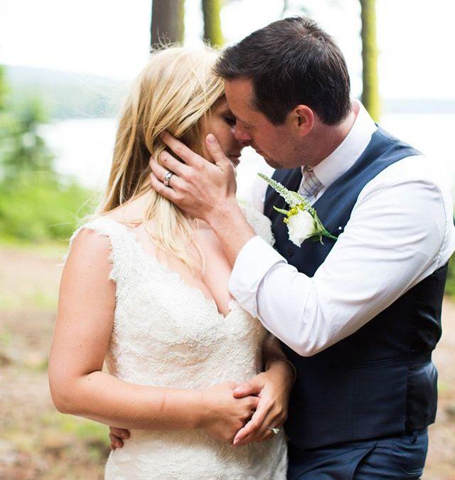 Kayla & Andrew's Rustic Lake Wedding ~ Klamath Falls, OR