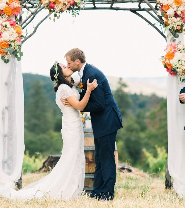 Lauren & Cody's Citrus Inspired Wedding ~ Jacksonville, OR